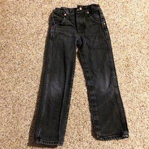 Boys Wrangler jeans size 6 slim